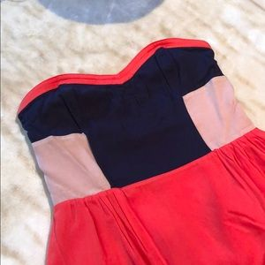 Urban Outfitters Sparkle&Fade Colorblock Dress
